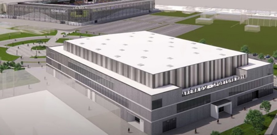 Hamarosan egy új, 3350 férőhelyes multifunkciós sportcsarnokkal gazdagodhat városunk sportinfrastruktúrája