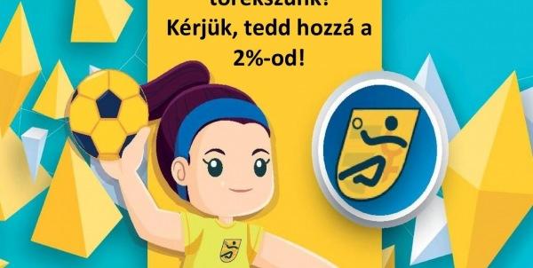Kérjük, támogassa adója 2%-val a kézilabdás lányokat