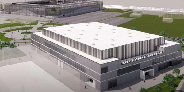 Nová multifunkčná športová hala s 3 350 miestami čoskoro obohatí športovú infraštruktúru nášho mesta