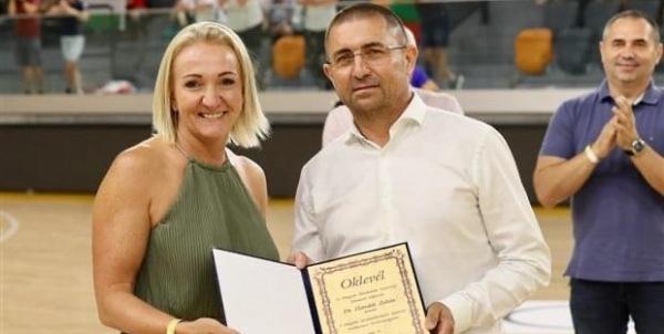 Elismerő oklevélben részesült Horváth Zoltán klubelnök